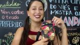 Aula Grátis e Molde-  Mini Shoulder Bag