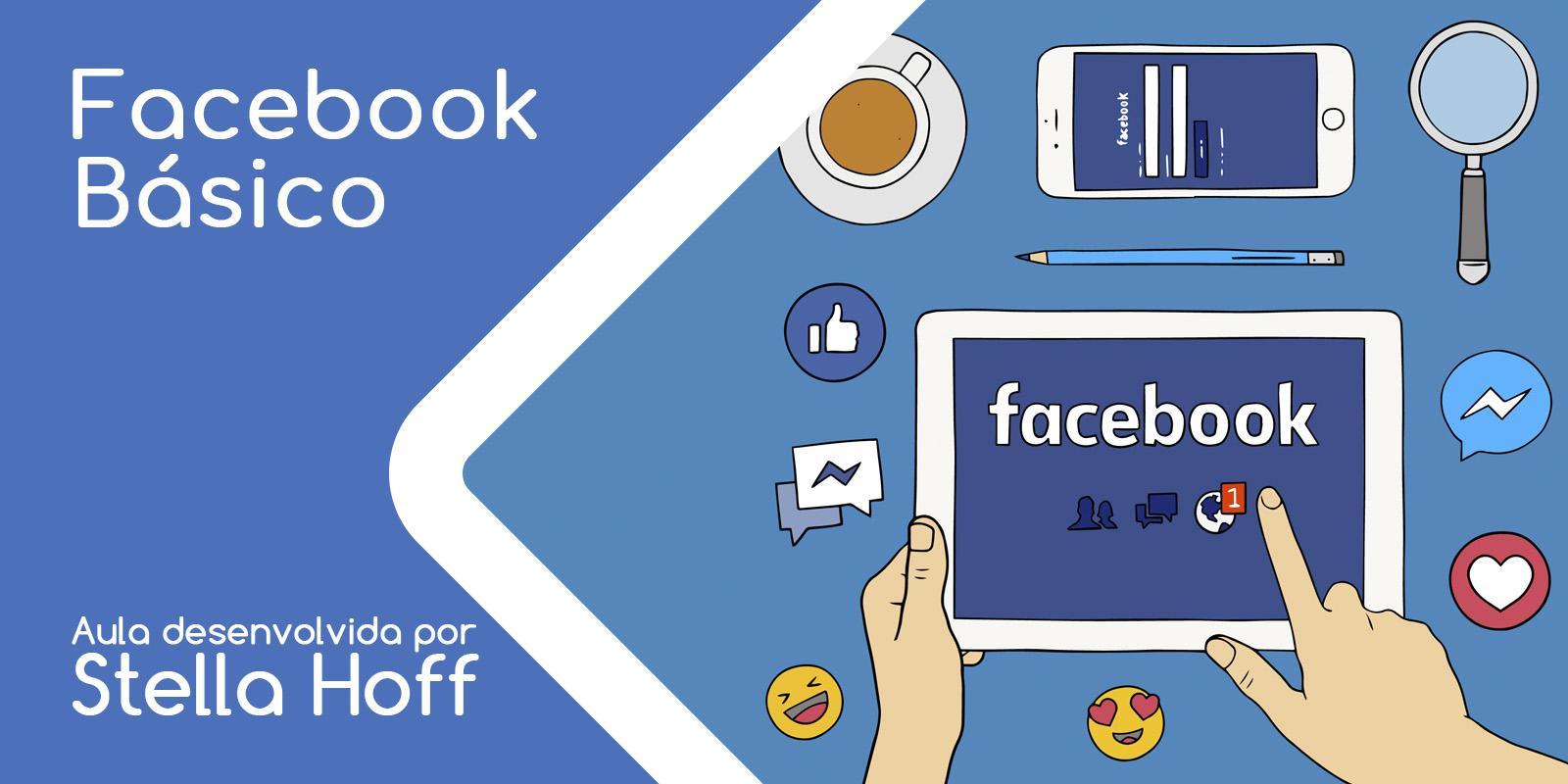 Capa do curso Facebook Básico