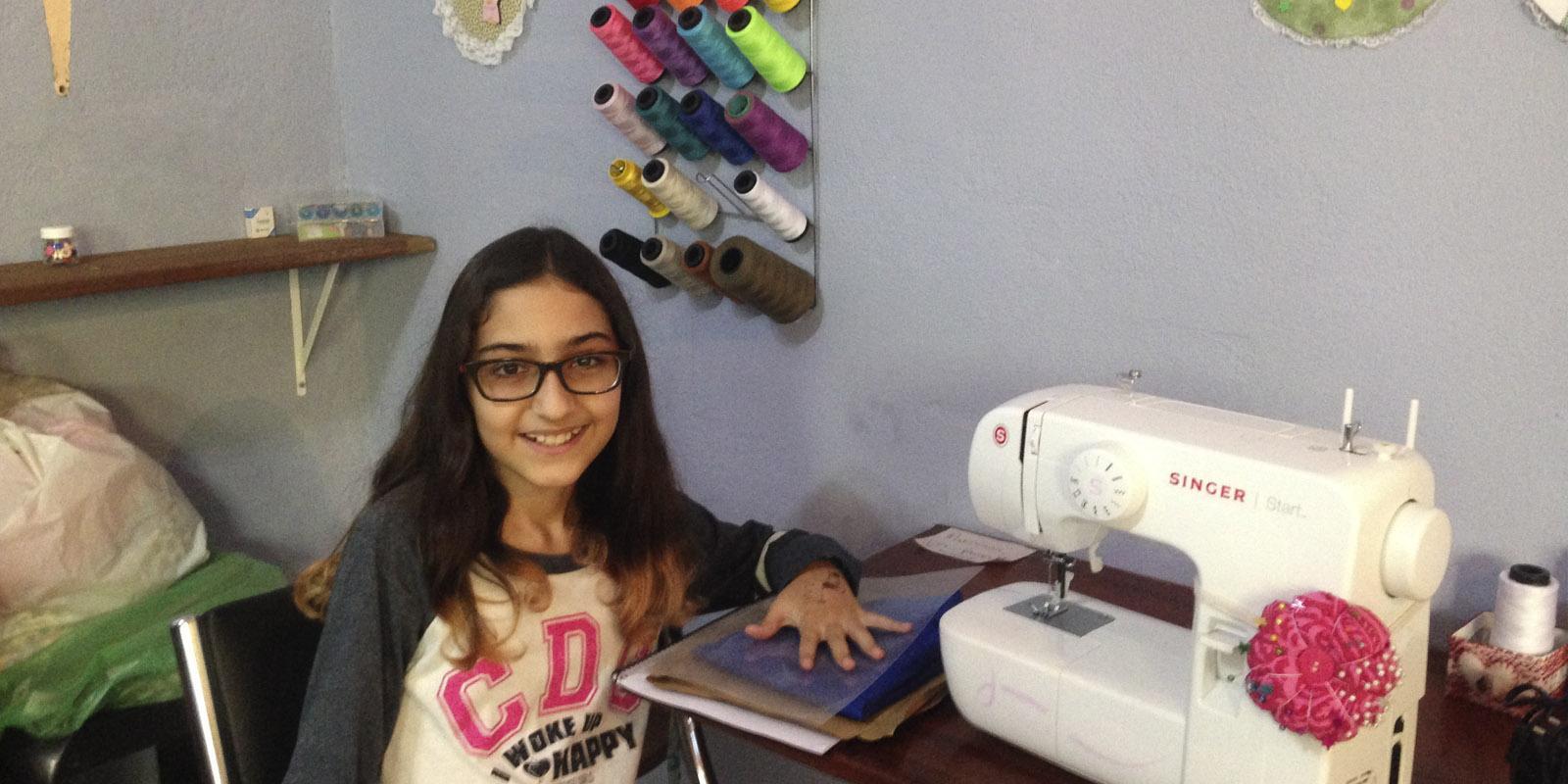 Entrevista - Mini Costureira Duda